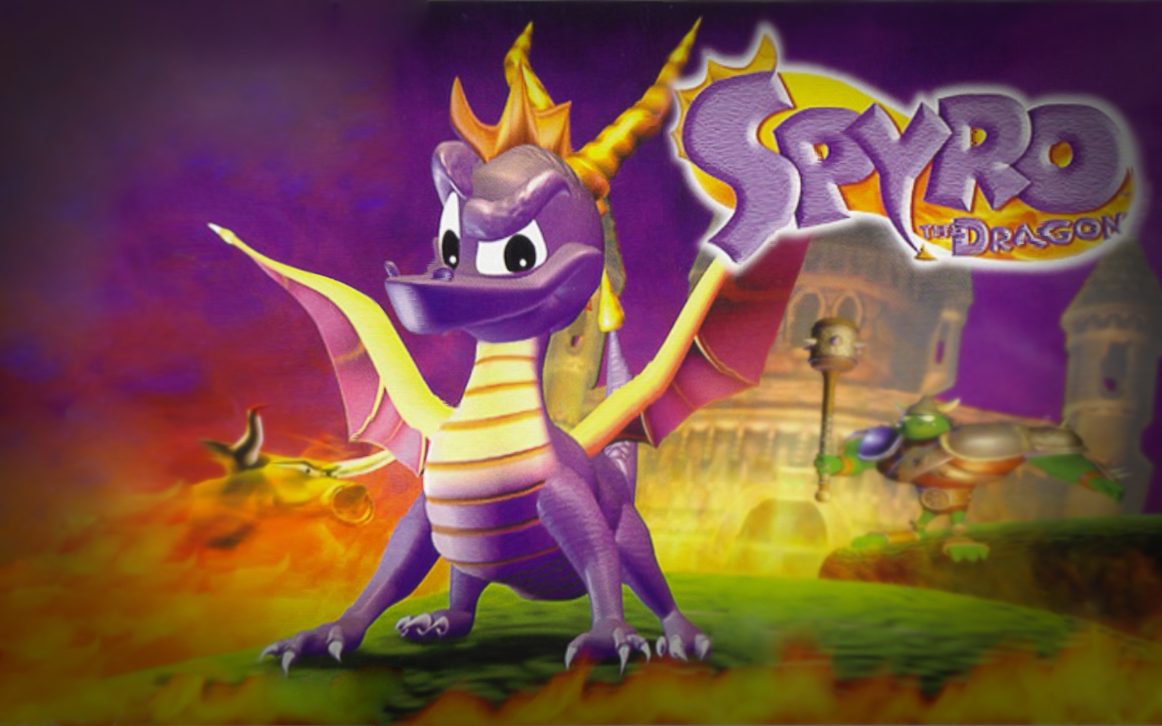 Spyro The Dragon Review PlayStation 1 Tyrant Haxorus