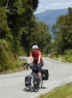 Philippa climbing Mount Hercules (1)