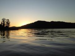 Sunset at Lake Ianthe