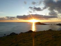 Sunrise from Mt Maunganui (2)