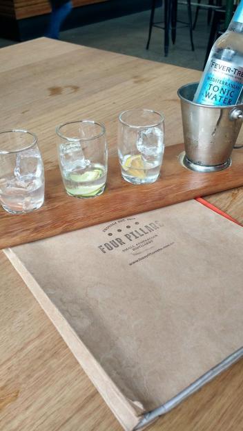 008. Four Pillars gin tasting