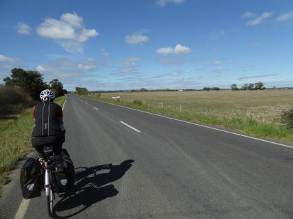 014. Flat roads after Berwick