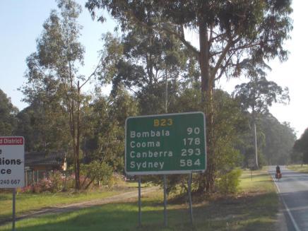 092. Start of the Monaro Highway