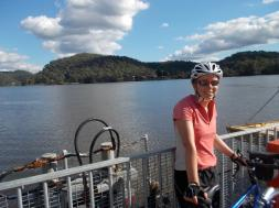 203. Chain ferry across Hawksbury River
