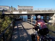 153. V1 bike path near the Coomera River