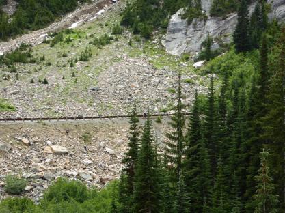 039. Climbing up to Washington Pass (spot Philippa)