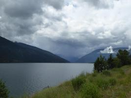 204. Kootenay Lake on the approach to Nelson
