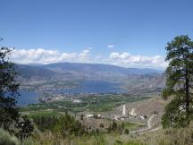 221. View Osoyoos from Highway 3
