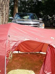Nelson park campsite
