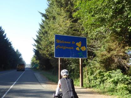 001. Entering California