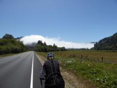 007. Fog near Klamath