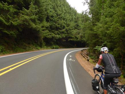 022. Good shoulder on the way from Cape Lookout to Pacific City