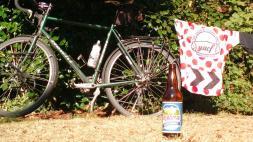 028. Pyramid beer at Devil's Lake campsite
