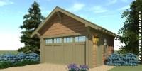 Craftsman Garage 1 Plan  by Tyree House Plans