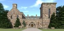 Modern Castle House Plans