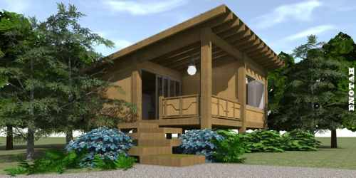 plans modern plan cabin cottage contemporary enotah sq ft tyree wood craftsman homes bedroom tiny layout feet mobile houseplans getaway