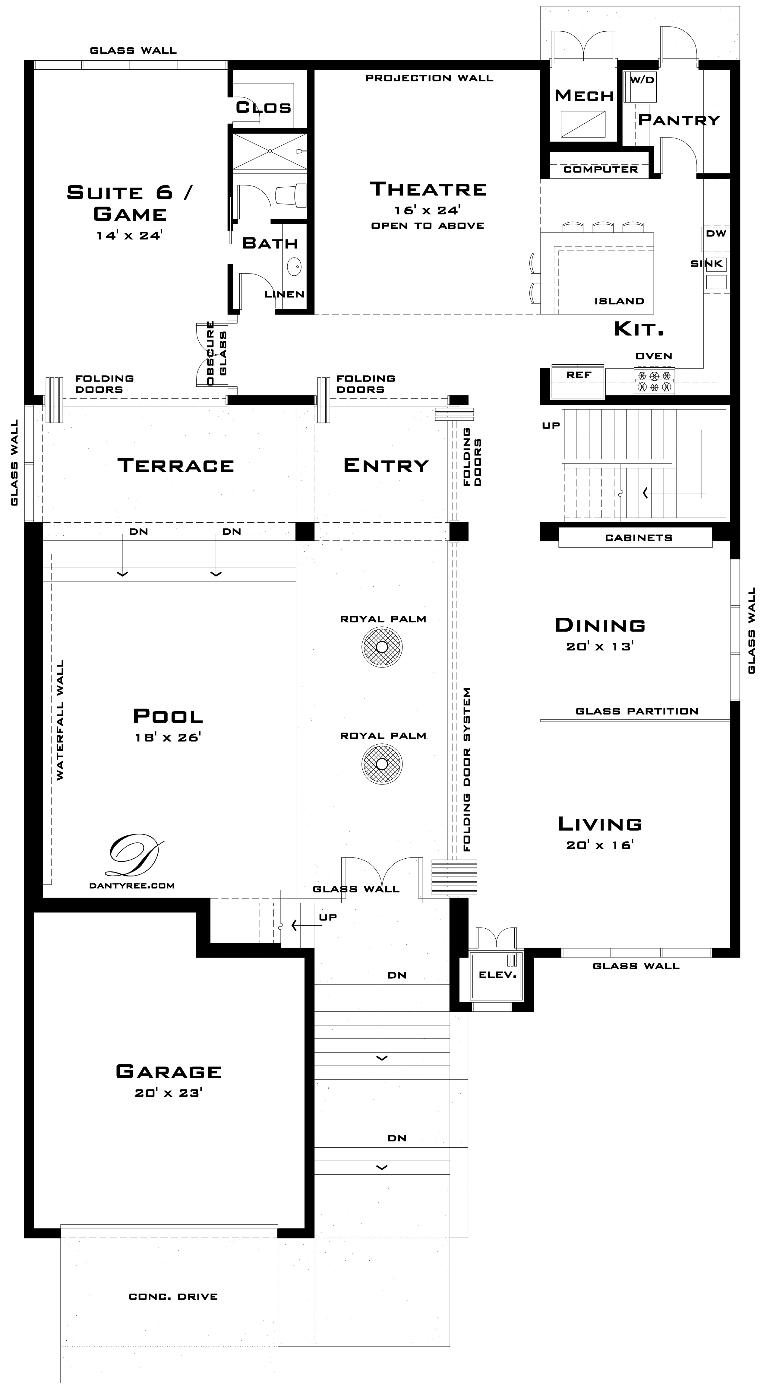 Limestone House Plan Tyree House Plans
