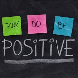 think, do, be positive - Tyrone Smith