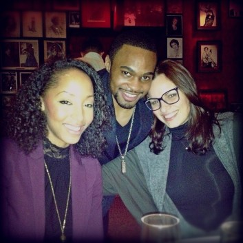 Whitney Adele Garlick_Tyrone Smith_Valentina Biuglioli Brewster_Birthday_model_music producer_Celebrity_Beautiful_NYC_Strip House_Party