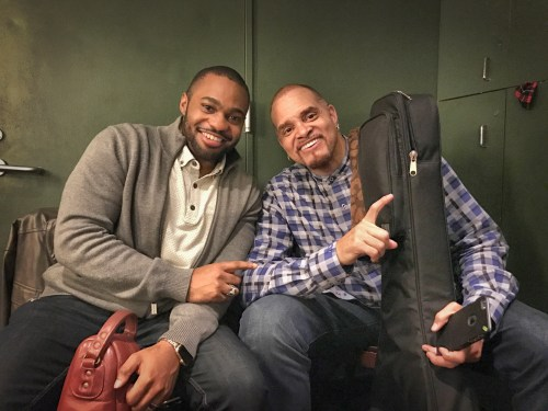 Celebrities Sinbad Tyrone Smith Carolines NYC musicians