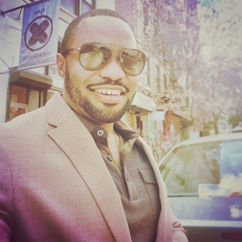 Confidence Grateful Tyrone Smith Positive Vibes Kunayama NYC East Villiage Celebrities music producer