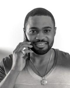 Armani shirt with avianne co jewelry celebrities music producer Tyrone Smith