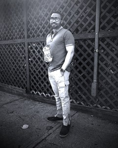Posted up and Posterized social influencer and music producer celebrity Tyrone Smith