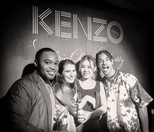Kenzo Paris NYFW Naomi Yasuda Tyrone Smith fashion week
