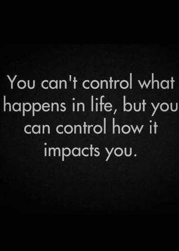 Control Life - Tyrone Smith