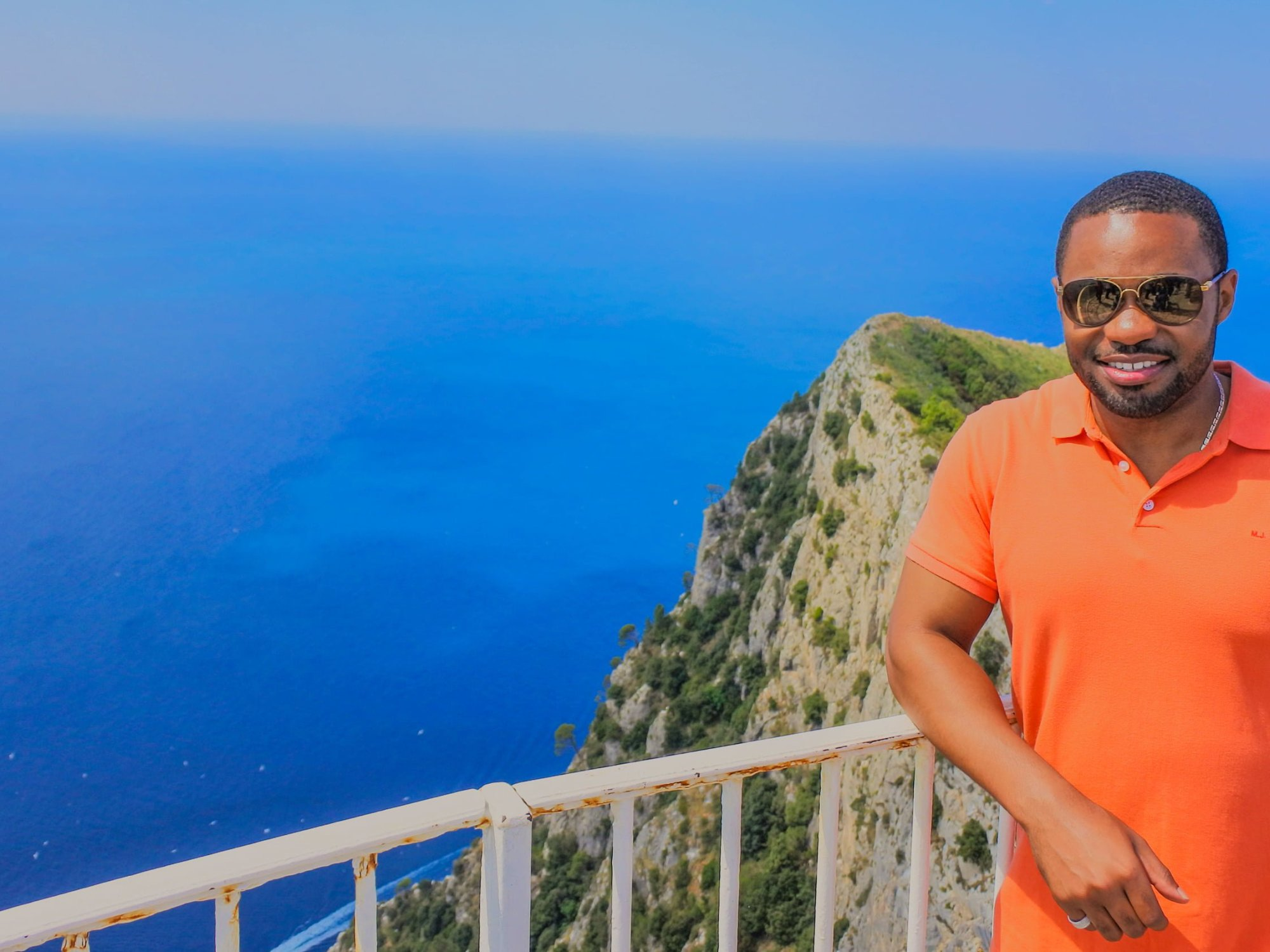 Isle of Capri Tyrone Smith Italy Views Ana Capri Marc Jacobs