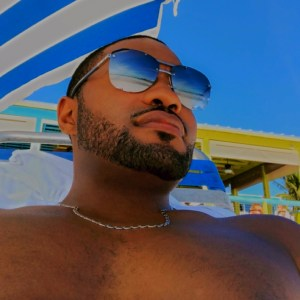 Fort Myers Fall in Florida with Tyrone Smith wearing Louis Vuitton and LaPrairie