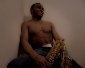 Candid Alto Saxophone Soprano Saxophone Tyrone Smith Music Producer Shirtless Russell Simmons Jewerly Collection