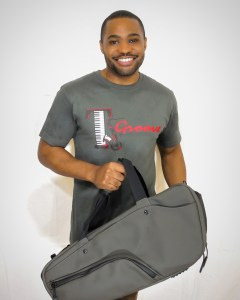 Keep Pursuing Duffle Predawn Gray Tyrone Smith musician producer men fashion influencer
