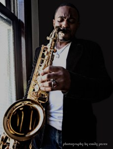 Don't be stopped by those who say it can't be done. Tyrone Smith Musician Sax by Window Hollywood CA