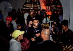 Gaby Bajña, celebrity, Tyrone Smith, Lovebreak Party, The Bryant Park Hotel, Célon lounge