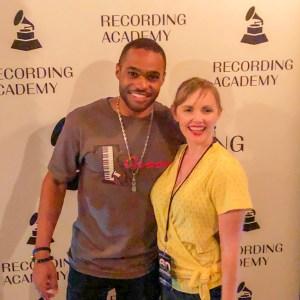 GRAMMYs Awards Tyrone Smith and Cassandra Kubinski New York Chapter 60th Anniversary Membership Celebration Skylark NYC T's Groove Inc