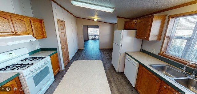 Mobile Home Interior in the Park