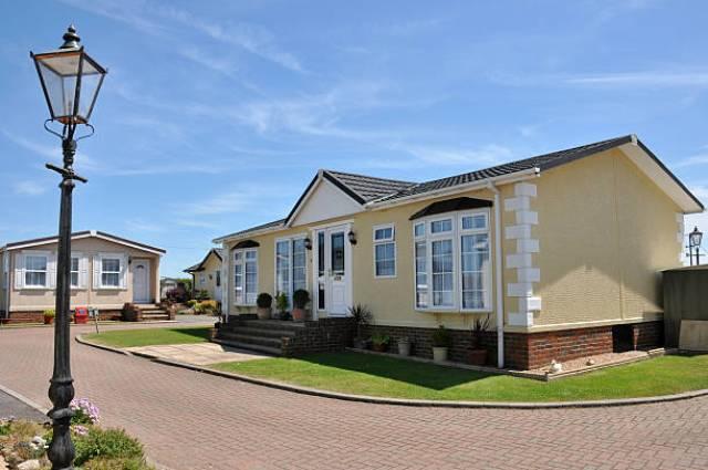 Residential mobile home park