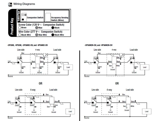 occupancy sensor switch wiring diagram wiring diagram leviton motion sensor light switch wiring diagram electronic 4 way