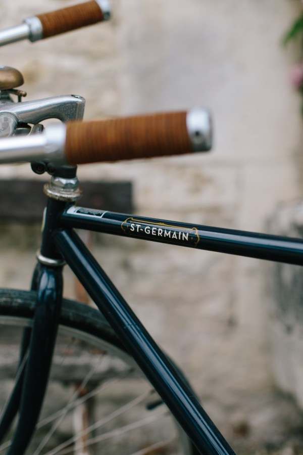 ST. GERMAINE BIKE NAVY PARIS FRANCE