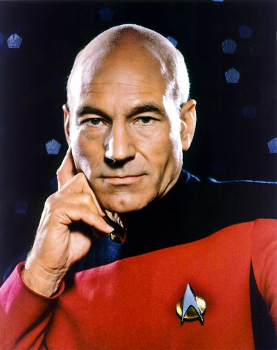 Captain Picard | Ty Templeton's ART LAND!!