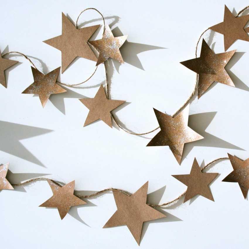 город небольшой, фото схема звезд из бумаги нам известно