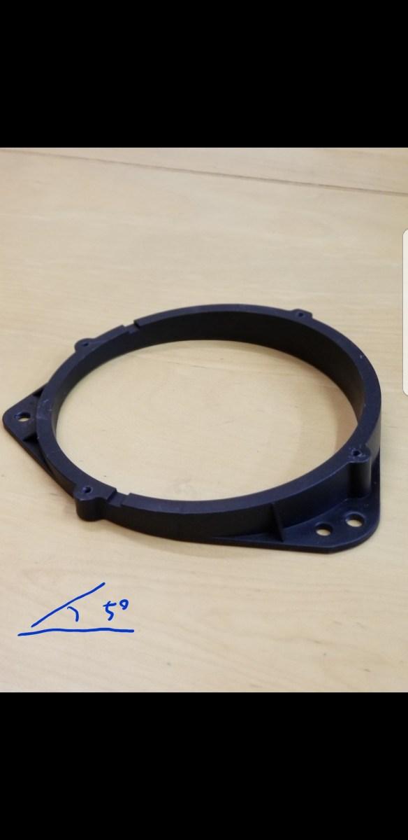 カーオーディオ インナーバッフルの自作 スラントバッフルを作ってみる