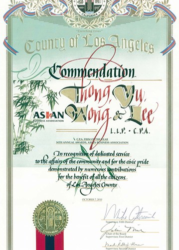Presented by County of Los Angeles