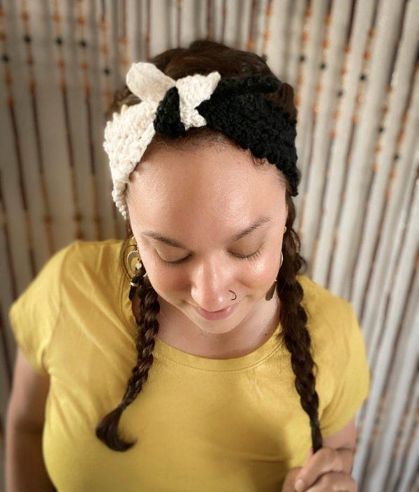 Yin Yang Sage Head Wrap
