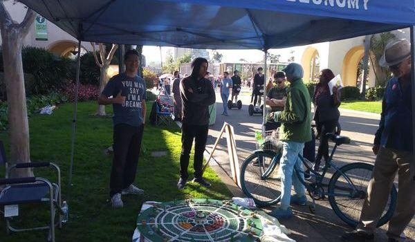 Sunday, Feb 18, 2018 – Meeting people and sharing ideas at Balboa Park