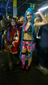 Las cosplayers