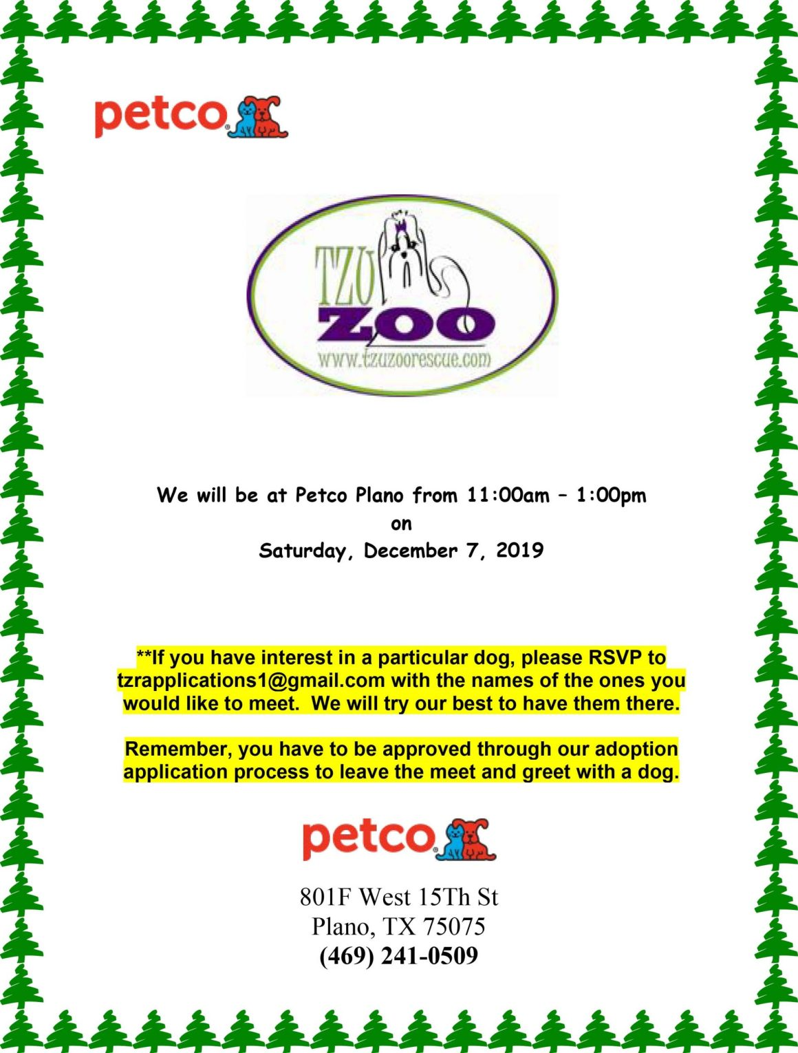 Meet & Greet - Petco Plano