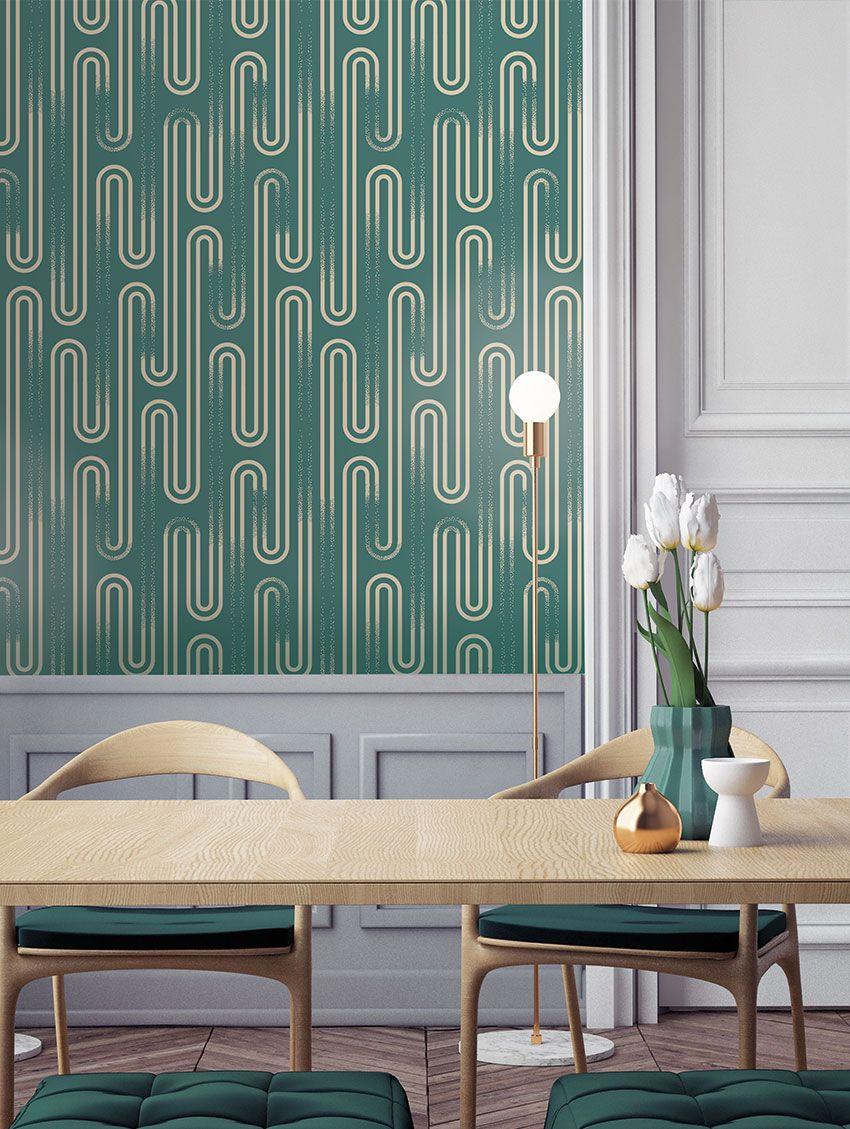 papermint ou l art de sublimer vos murs. Black Bedroom Furniture Sets. Home Design Ideas