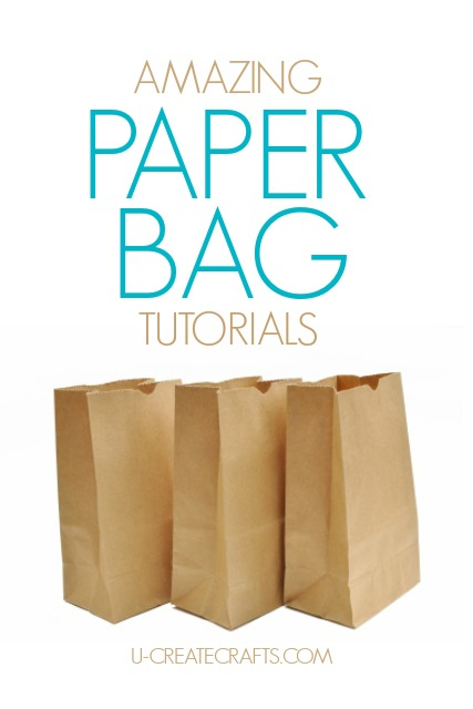 Tutorial Paper Bag : tutorial, paper, Amazing, Brown, Paper, Tutorials, Create